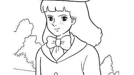 Coloriage Princesse Sarah : Lavinia