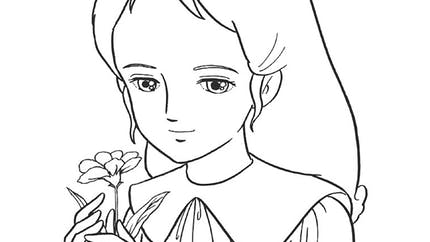 Coloriage Princesse Sarah