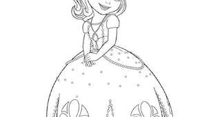 Coloriage Princesse Sofia (8)
