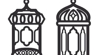 ramadan : de jolies lanternes