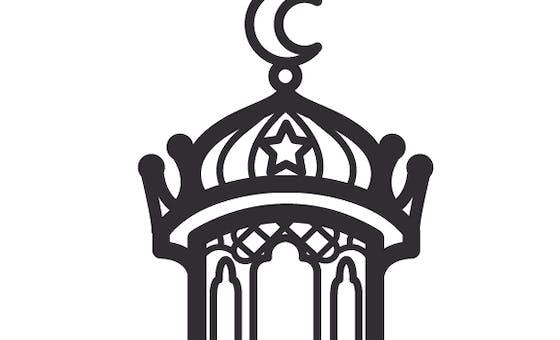 Coloriage Ramadan : la lanterne