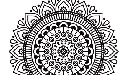 Coloriage Ramadan : les arabesques