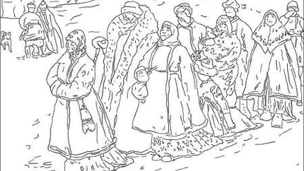 Coloriage Sergei Ivanov [1864-1910]
