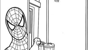 Coloriage Spider-Man 10