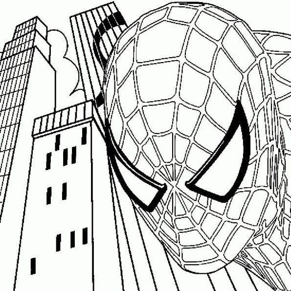 Coloriage Spider Man 12 Momes Net