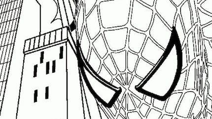 Coloriage Spider-Man 12