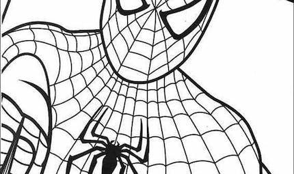 Coloriage Spider-Man 8