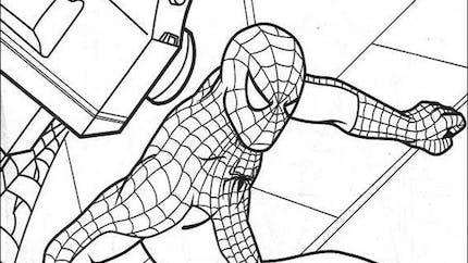 Coloriage Spiderman (5)