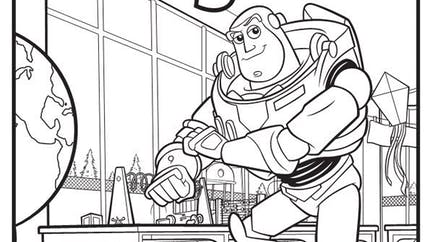Coloriage Toy Story (5)