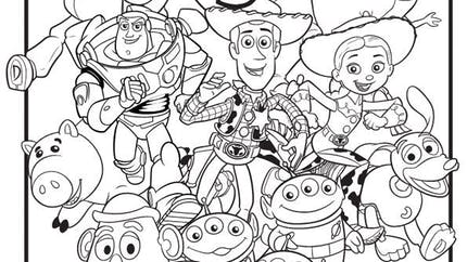 Coloriage Toy Story