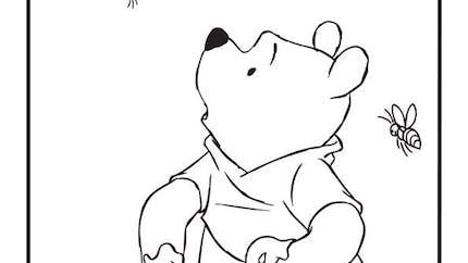 Coloriage Winnie l'ourson 3
