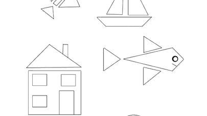 colorier les triangles