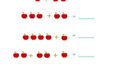 Combien de pommes ?