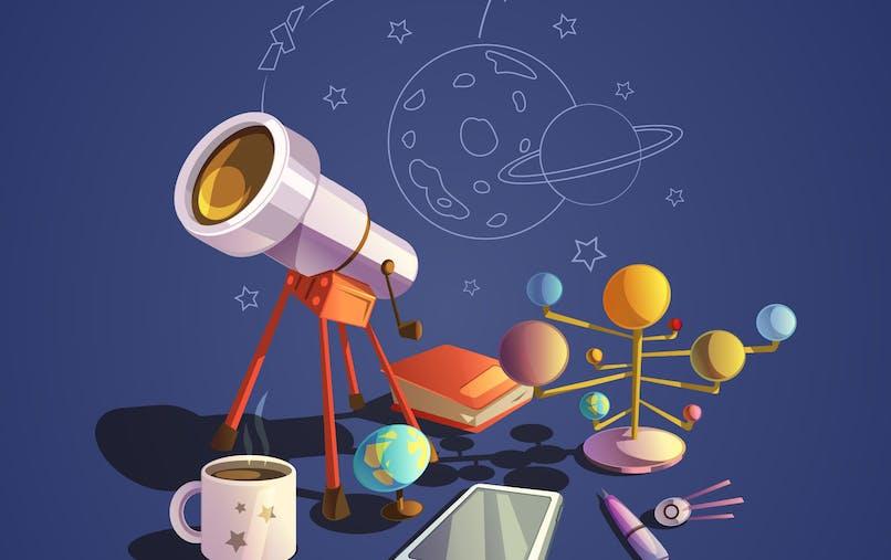 Observer les étoiles avec les enfants
