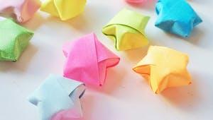 Comment faire des étoiles en origami