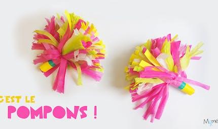 Comment faire des pompons en papier (pour danser !)