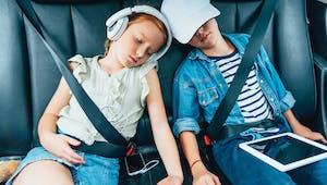 Comment occuper les enfants en voiture ?