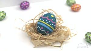 Comment peindre un œuf de pâques ?