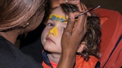 Maquillage indien et indienne