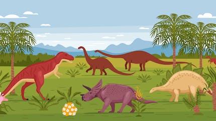 Comment sont apparus les dinosaures?