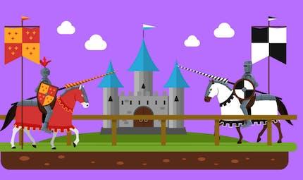 Comment vivaient les seigneurs et les chevaliers au Moyen-Age