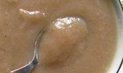 Compote poire nutella