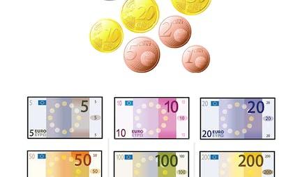 Compter sa monnaie en euros