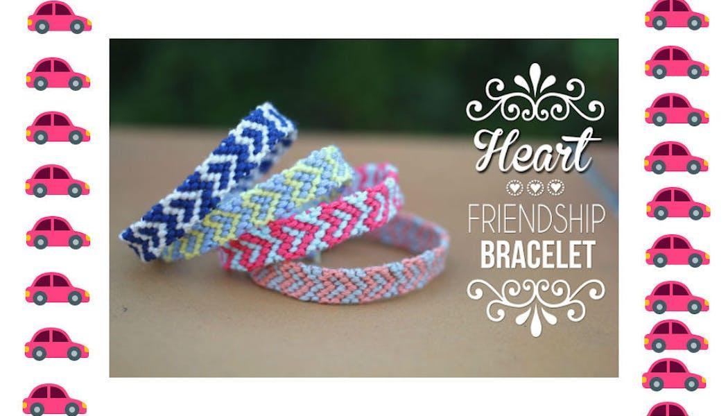 Confection de bracelets brésiliens