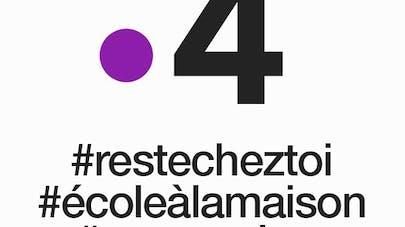 France 4 école à la maison cours à la télévision       covid-19 confinement #restecheztoi