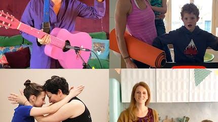 Confinement et enfants : Quand les concerts en live, expo, théâtre, dessin, yoga, gym, cuisine... s'invitent à la maison !