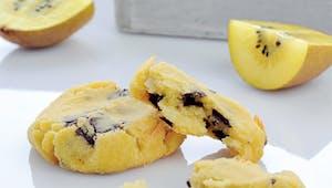Cookies au kiwi et noisettes
