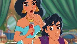 Coronavirus : quand les personnages Disney sont eux aussi frappés par la crise...