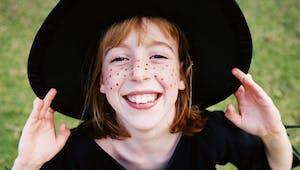 Costume d'Halloween: la sorcière