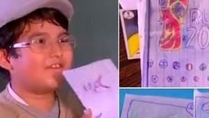 [Coupe du Monde de football] À 8 ans, il crée son propre album Panini faute de pouvoir se l'offrir !
