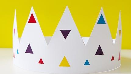 Couronne couleurs à imprimer