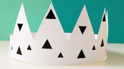 couronne de roi à imprimer
