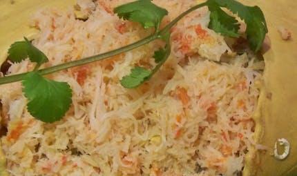 Crabe filé à la mayonnaise