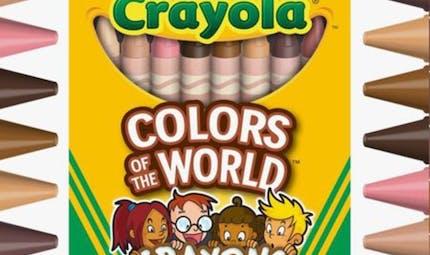 Crayola lance une gamme de crayons pour reproduire plus de 20 teintes de peau