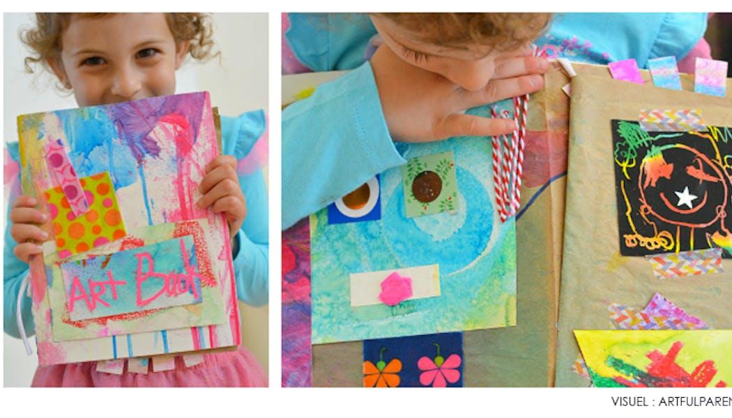 Créer un livre des dessins de vos enfants
