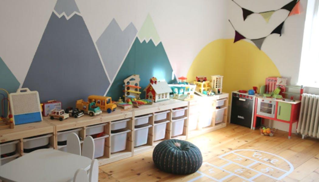 Créer une salle de jeu dédiée aux enfants