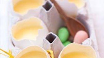 Crème vanille pour pâques