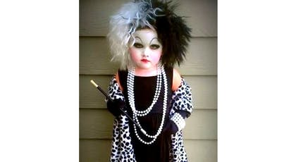 cruella déguisement enfant Halloween