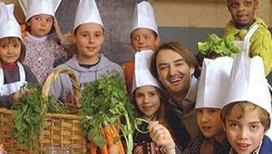 Cyril Lignac et les petits chefs