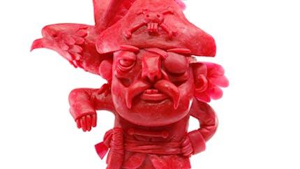 D'incroyables sculptures en Babybel