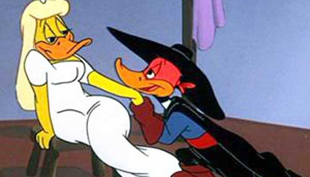 Daffy Duck et Melissa (Les Looney Tunes)