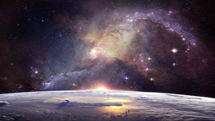 Dans l'espace, un poème sur les planètes