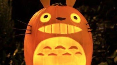 citrouilles halloween ghibli