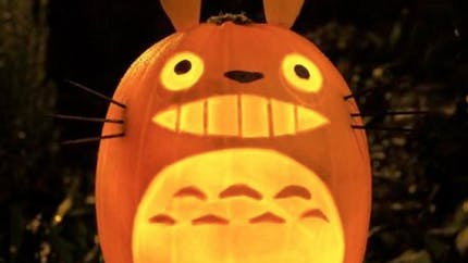 De superbes citrouilles d'Halloween spéciales Ghibli