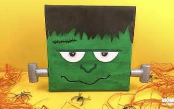 Déco d'Halloween Frankenstein