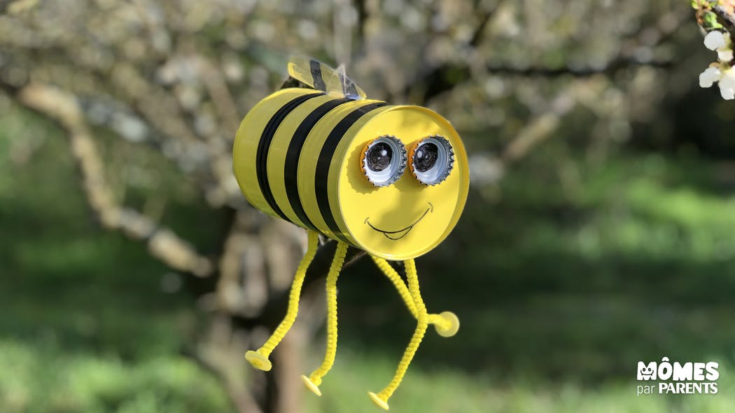 Déco de jardin – La petite abeille